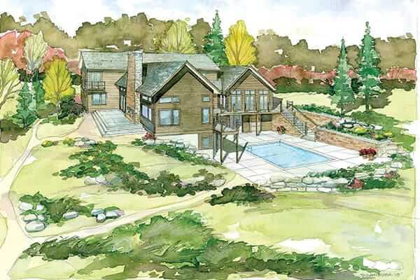 custom beach house design