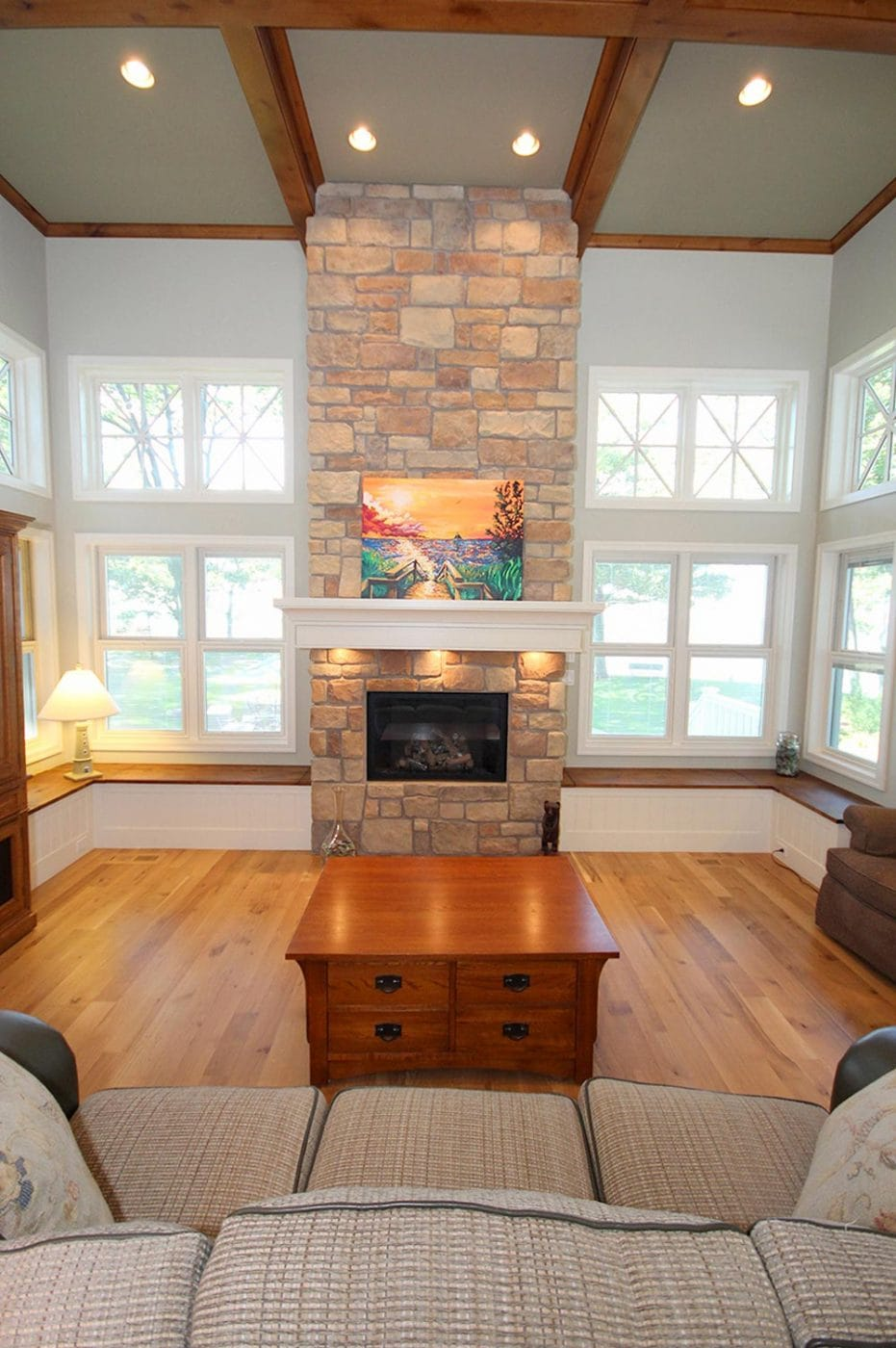 Interiors This Is My Kind Of Log Cabin See Evan: Beach House Interior Finishes, Lake Michigan Custom Beach