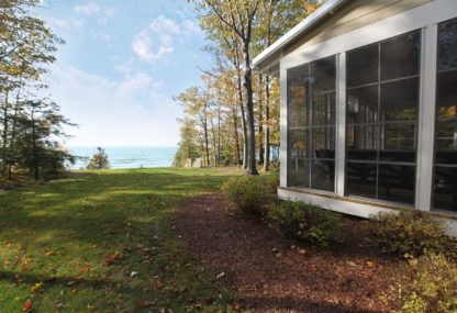 Custom Home on Lake Michigan