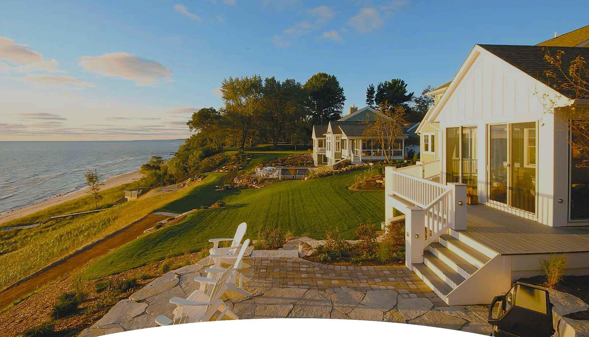 Custom Lake Michigan Beach Houses