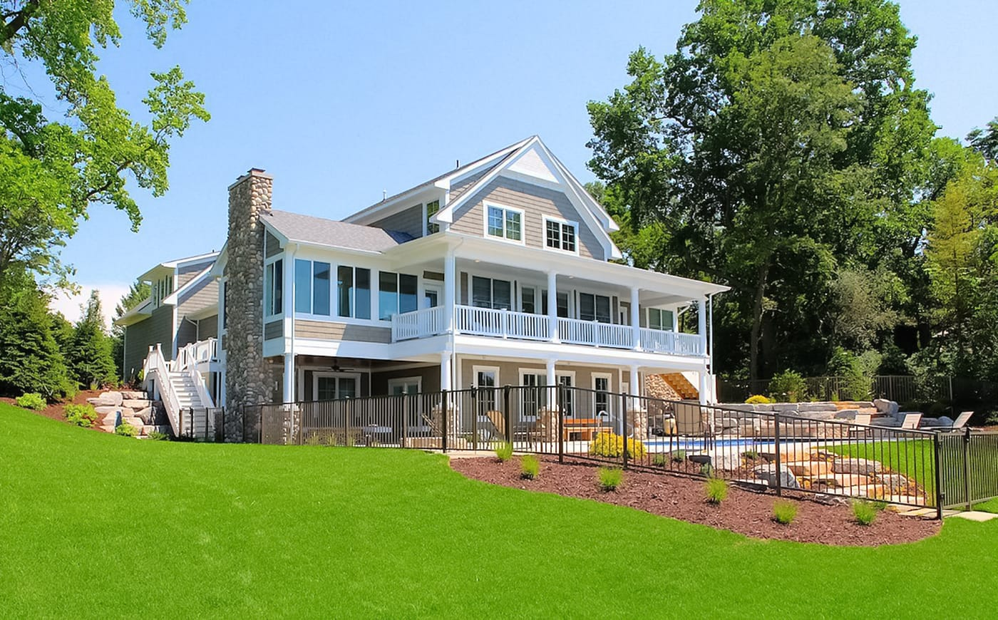 Custom Beach House Exteriors, Lakefront Homes, Gallery Of
