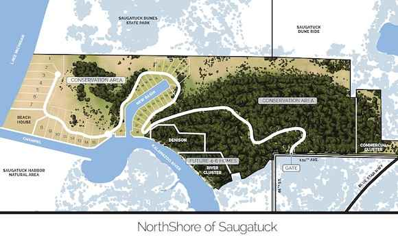 Saugatuck lakefront property