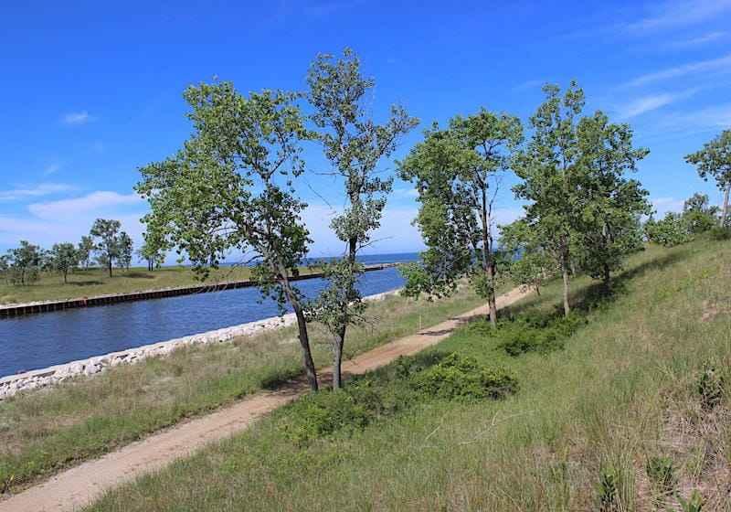 Saugatuck Lake Michigan Access