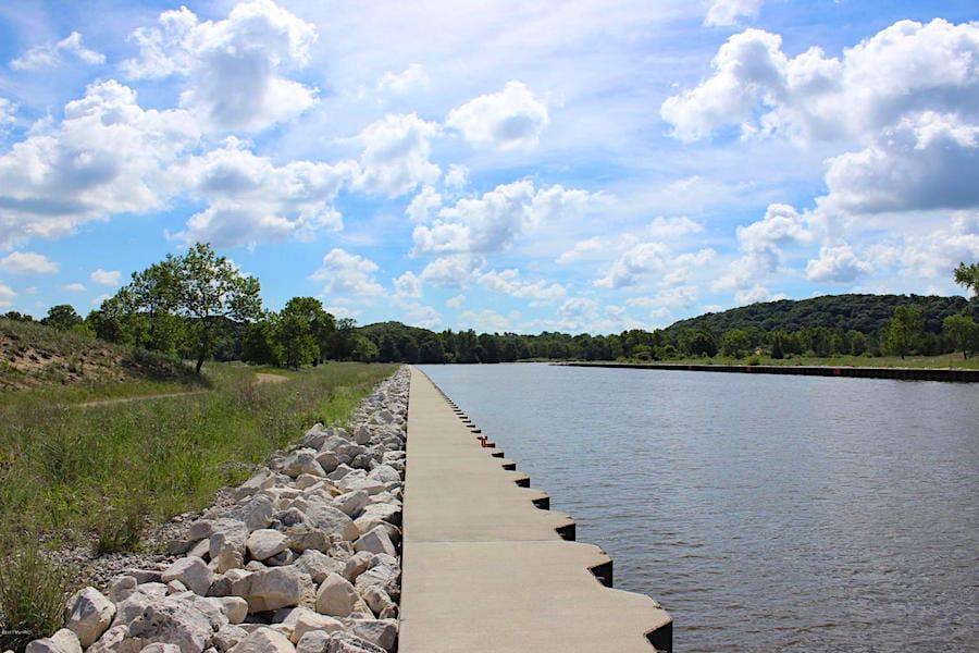 Property With Lake Michigan Access