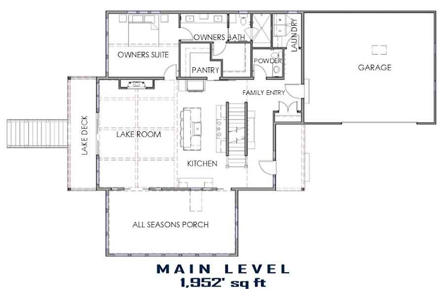 Beach House Floor Plan