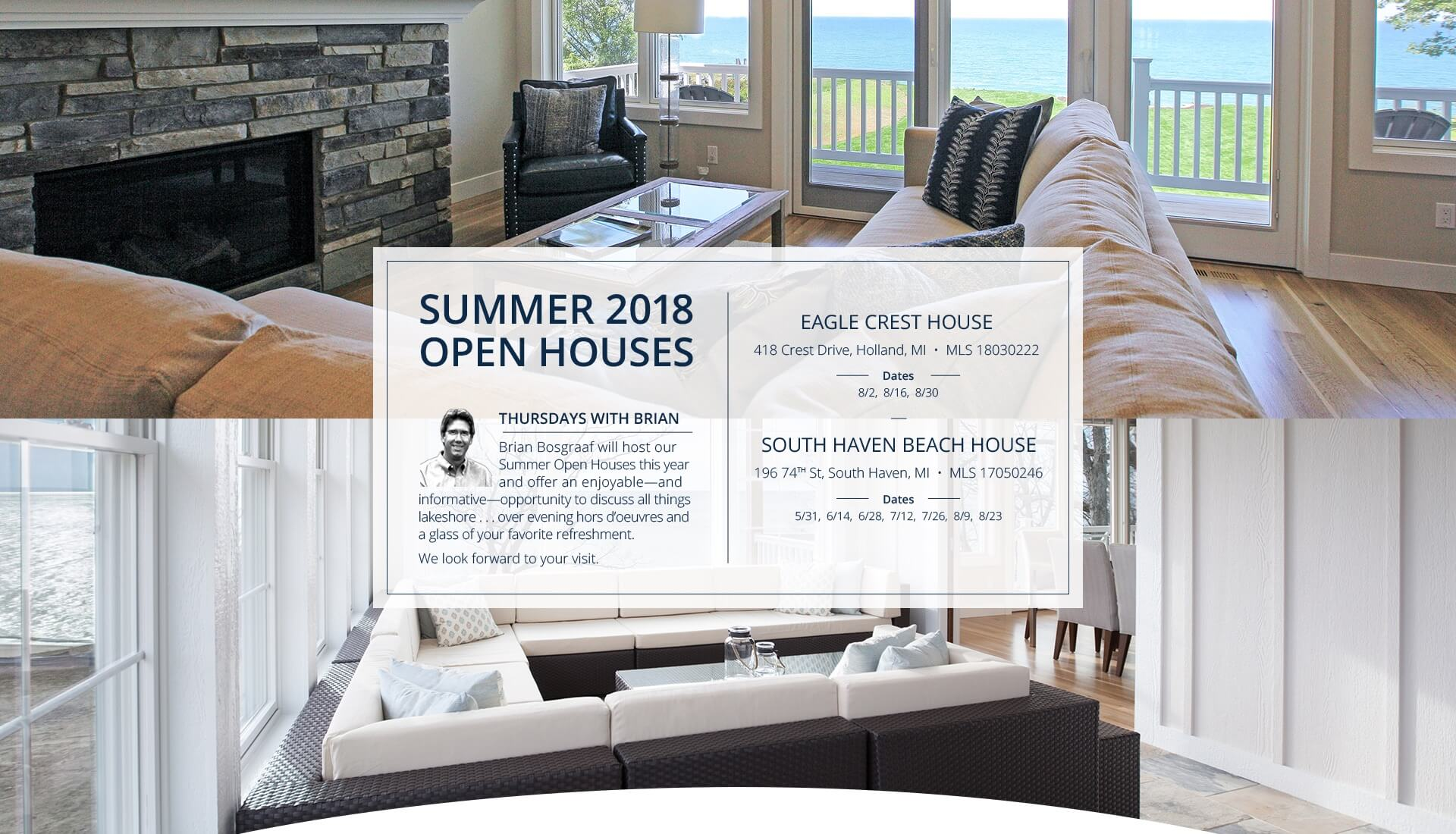 cottage home open house
