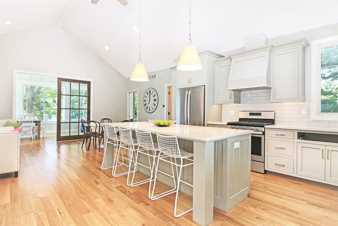 Captivating Lake House Kitchen