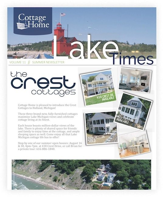 Cottage Home Newsletter